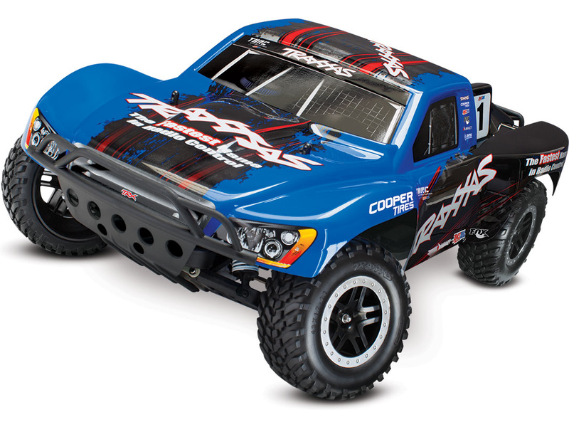 1:10 Traxxas Slash VXL TQi RTR (Blue)
