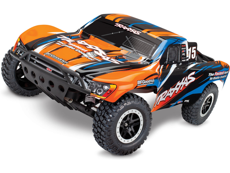 1:10 Traxxas Slash VXL TQi RTR (Orange)