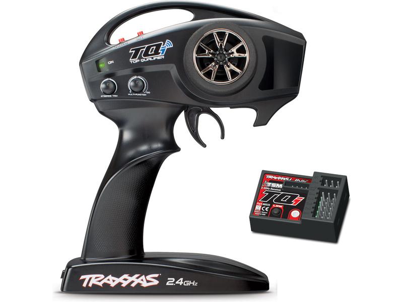 Traxxas vysielač TQi 2-kan., BlueTooth modul, prijímač TSM