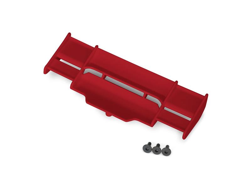 Traxxas křídlo červené: Rustler 4X4, TRA6721R, Traxxas 6721R