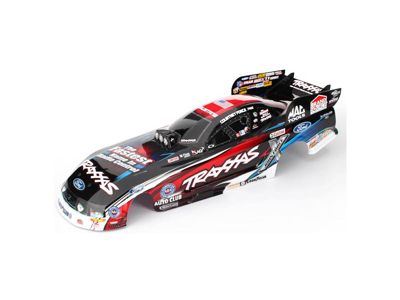 Funny Car: Traxxas karoserie Ford Mustang Courtney Force