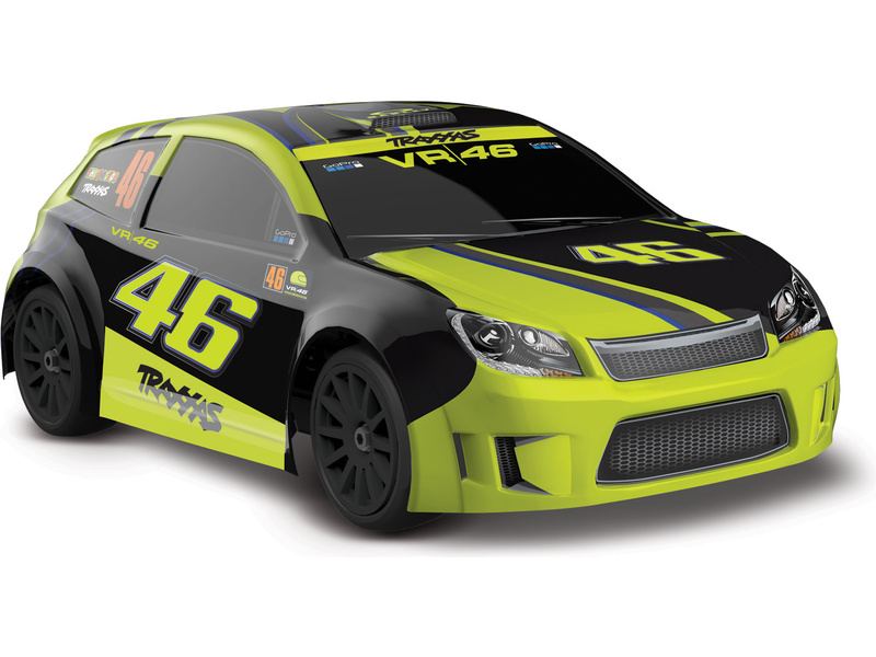 1:18 Traxxas Rally 4WD RTR, Valentino Rossi