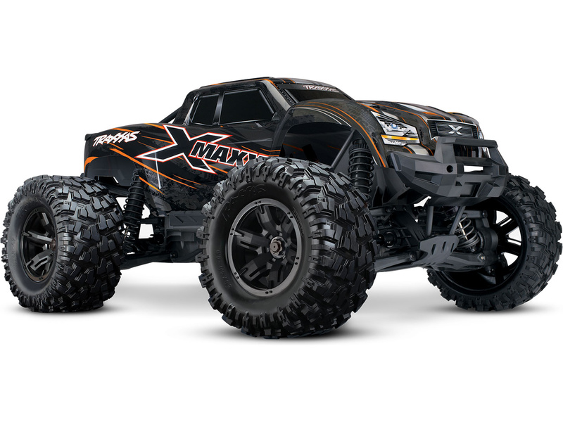 1:5 Traxxas X-Maxx 8S 4WD TQi RTR (oranžová Classic)
