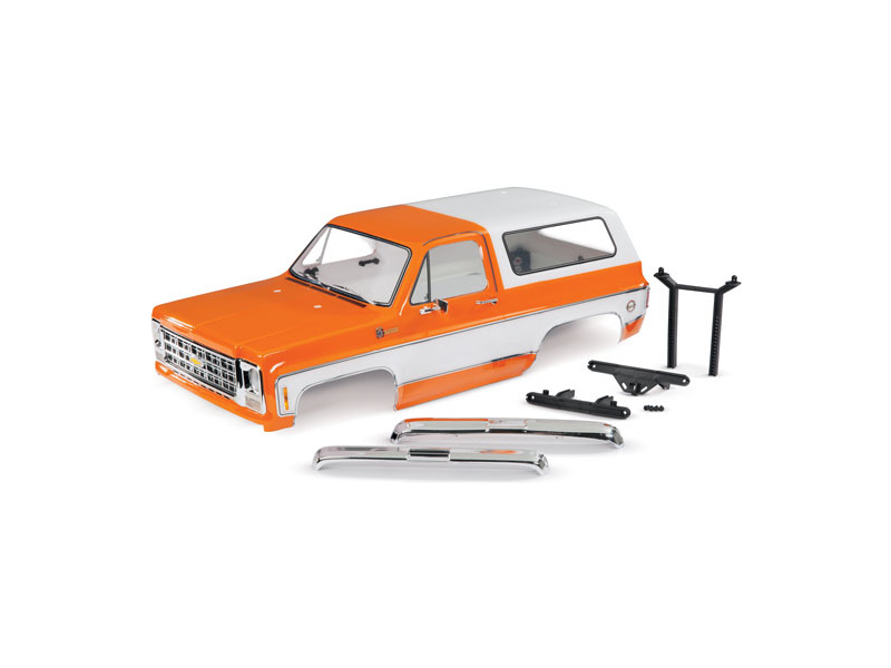 Traxxas karosérie Chevrolet Blazer 1979 kompletní oranžová, TRA8130X, Traxxas 8130X