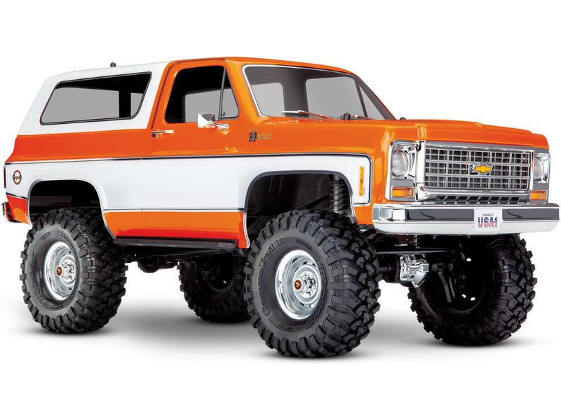1:10 Traxxas TRX-4 Chevrolet K5 Blazer RTR (oranžový)