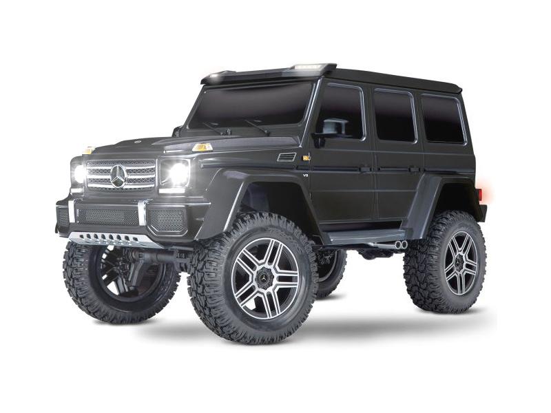 Náhľad produktu - 1:10 Traxxas TRX-4 Mercedes G500 TQi RTR (čierny)