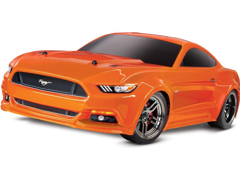 Traxxas 4-Tec 2.0 Ford Mustang GT oranžový  1:10 TQ RTR, TRA83044-4,  Traxxas 83044-4 ORNG