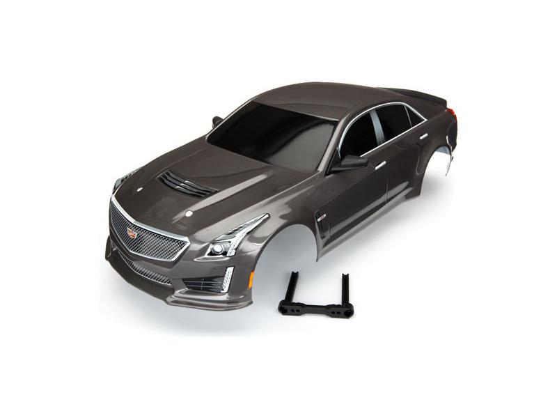 Traxxas karosérie Cadillac CTS-V stříbrná, TRA8391X