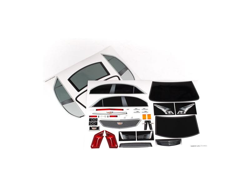 Cadillac CTS-V: Traxxas samolepky