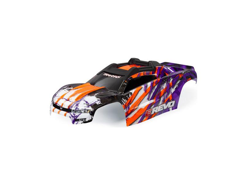 E-Revo: Traxxas karoserie (fialová)