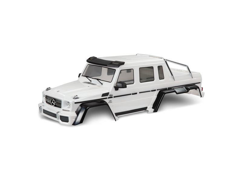 Traxxas karoserie Mercedes-Benz G63 6×6 (bílá)