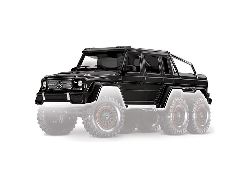 Traxxas karoserie Mercedes-Benz G63 6×6 (černá)
