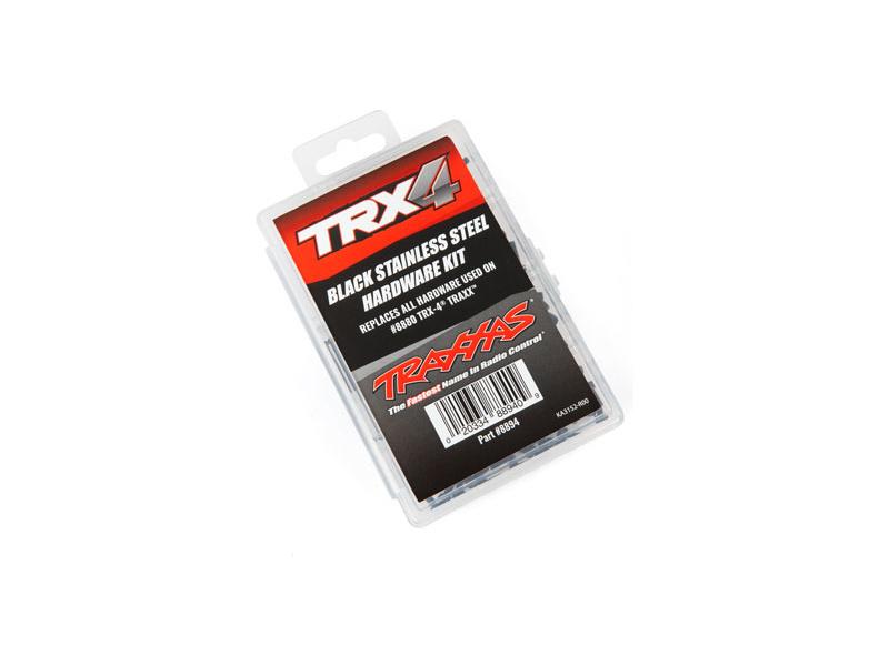 Traxxas součásti podvozku nerezové černěné (sada pro TRX-4 Traxx), TRA8894, Traxxas 8894