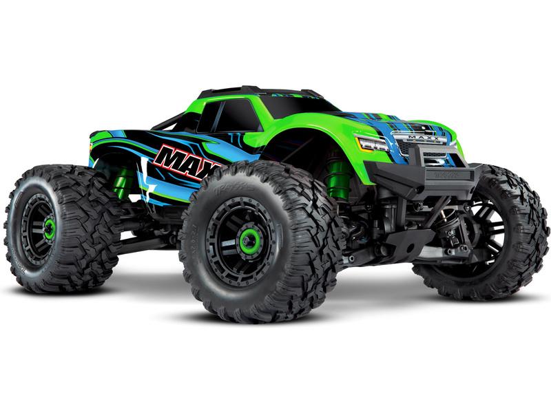 1:8 Traxxas Maxx 4WD TQi RTR (zelený)