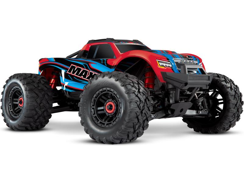 1:8 Traxxas Maxx 4WD TQi RTR (červený)