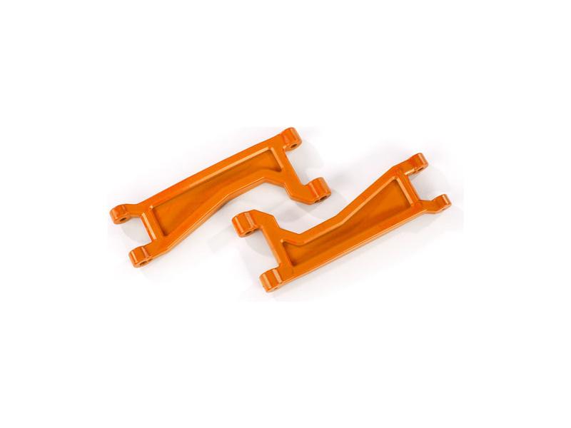 Traxxas rameno závěsu kol horní oranžové (2) (pro WideMaxx), TRA8998T, Traxxas 8998T