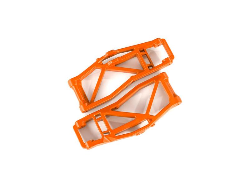 Traxxas rameno závěsu kol dolní oranžové (2) (pro WideMaxx), TRA8999T, Traxxas 8999T