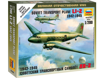Zvezda Easy Kit LI-2 Soviet Transport Plane (1:200) / ZV-6140