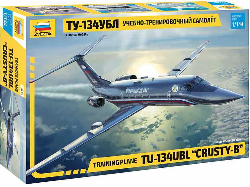 Zvezda Tupolev Tu-134UBL Crusty-B (1:144)